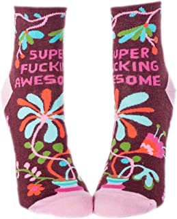 Women's Novelty Ankle Socks - (Womens Size 5-10)