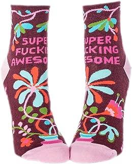 Women's Novelty Ankle Socks - Fight Like A Girl Women's Size 5-10