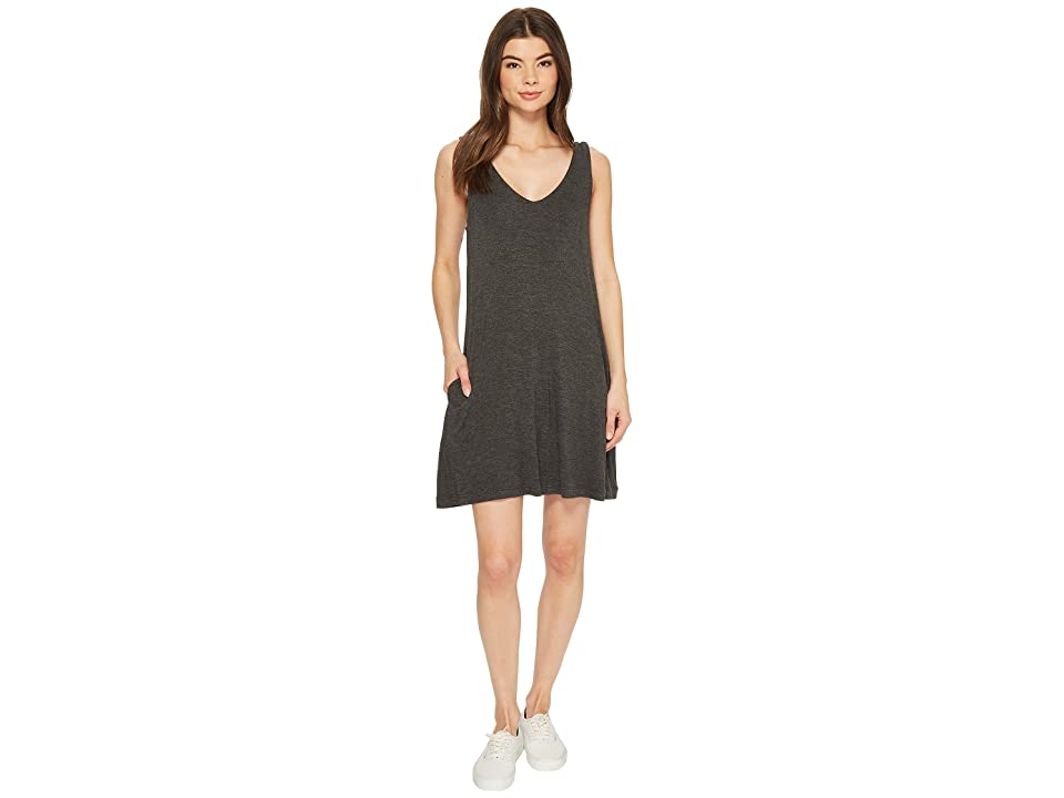 RVCA Chances Dress (Charcoal Heather) Women