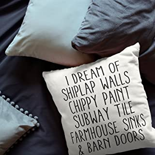 Best i dream of shiplap walls pillow Reviews