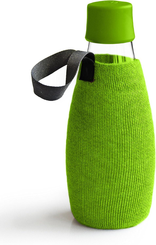 Retap Glass Water Bottle Sleeve, 17 oz noebqr2961-Sporting goods