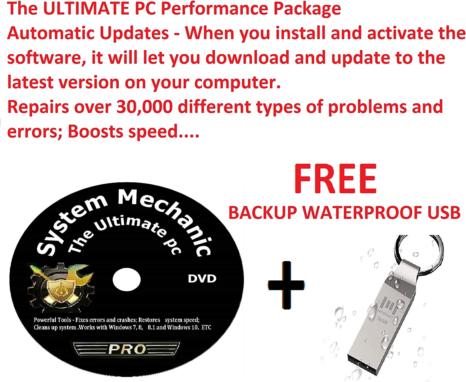 System Mechanic Professional Unlimited PCs ONE Version Same 67% OFF of fixed price day shipping 1 YEAR PC