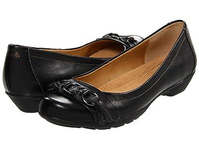 Comfortiva Posie Soft Spots (Black Calf Ionic) Women