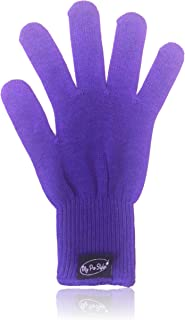 PURPLE Heat Resistant Glove for Flat / Curling Irons & Other Hot Hair Styling Tools By MyProStyler