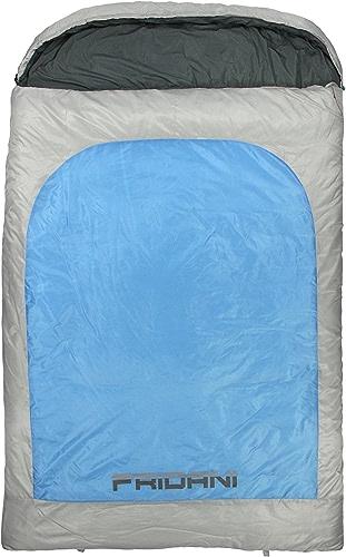 Fridani BB 235D Double Couvertures de Couchage, 235x 150cm, 3900G, de 22°C (ext), de 5°C (Lim), 1°C (Comf)