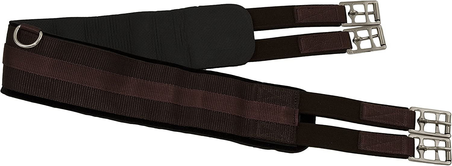 Horse Fare Products Neoprene English Girth Double Max 60% Mail order cheap OFF Elastic: with