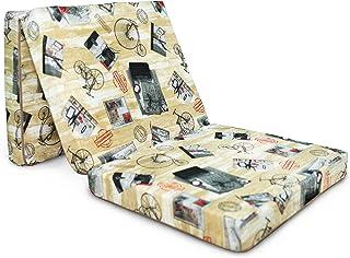 comprar comparacion Natalia Spzoo 5901867275622Espuma Colchón, poliéster, Press, 198x 80x 10cm