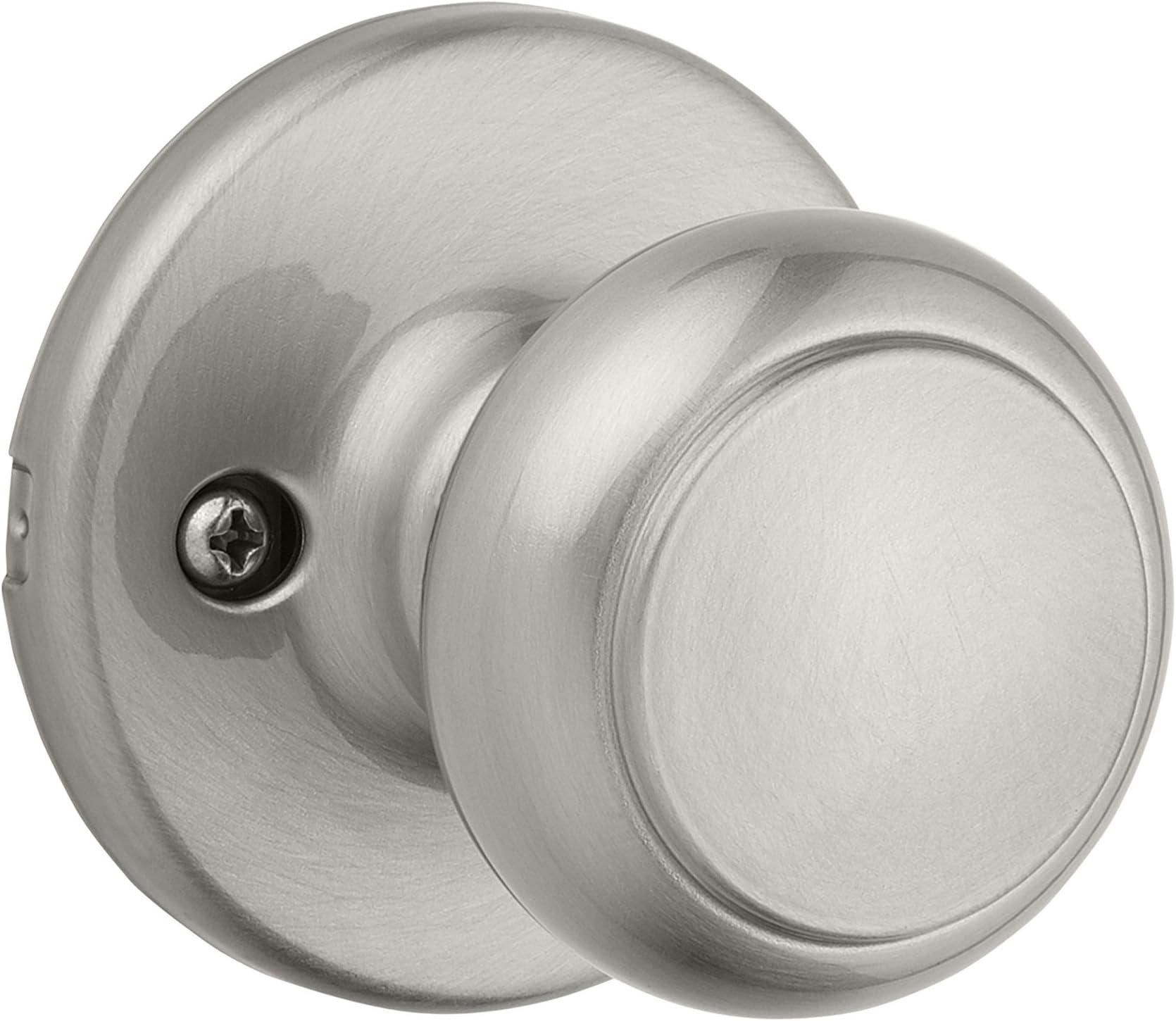 Kwikset 94880-584 Cove Dummy Door Knob in Polished Chrome