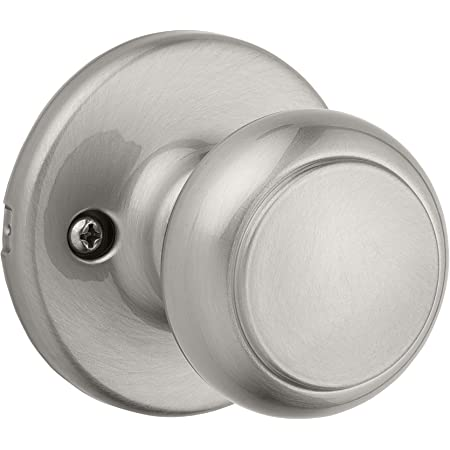 Kwikset Cove Pass Hall /& Bath 93001-866 Privacy Knob Satin Nickel