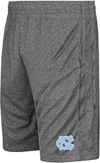 Colosseum NCAA Youth-Boys and Girls-Athletic Training Shorts-Heather Grey