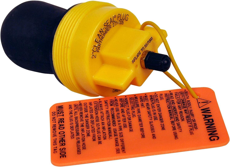 Oatey Cherne 271705 Clean-Seal in 2 2021 inch Very popular Plug
