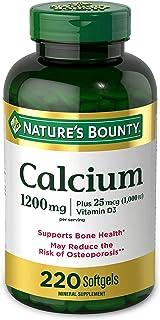 Nature's Bounty Calcium 1200 Mg. Plus Vitamin D3 200-Count