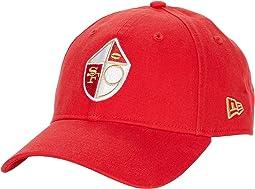 NFL Core Classic 9TWENTY Adjustable Cap - San Francisco 49ers