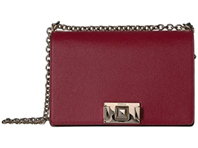 Furla Mimi Small Crossbody (Ciliegia) Handbags