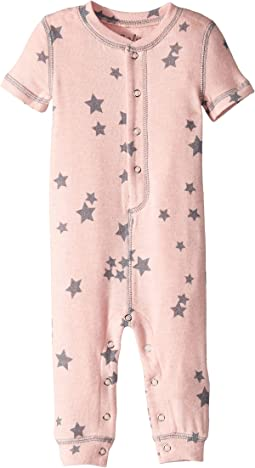 Peachy Party Star Romper (Infant)