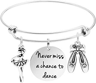 Awegift Personalized Dance Bracelets Dance is The Hidden Language of The Soul