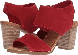 [トムズ] Womens Majorca Peep Toe Fashion Boots
