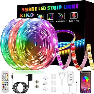 50ft/15M LED Strip Lights, Smart KIKO Led Lights Music...
