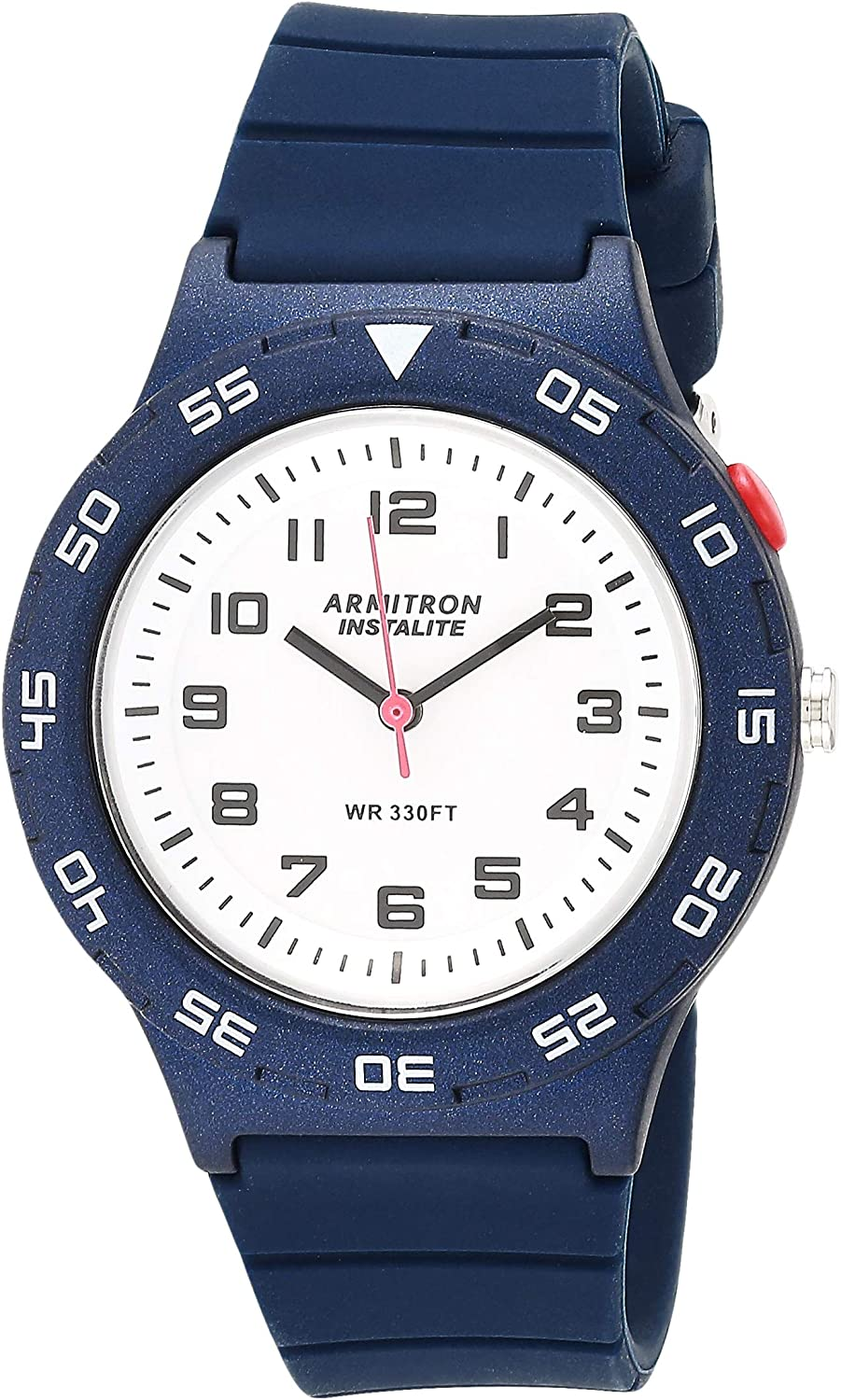 Armitron Sport Unisex Easy Daily bargain sale to Read 6443 Strap 25 Watch Ranking TOP1 Silicone