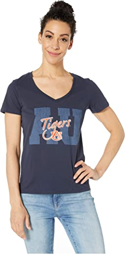 Auburn Tigers University V-Neck Tee