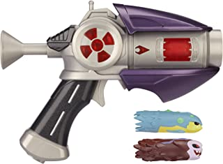 Slugterra, Dr. Blakk's Blaster 2.0 Harbinger Firestorm with 2 Firing Slugs