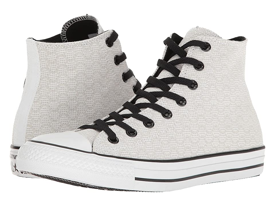 Converse Chuck Taylor(r) All Star(r) Hex Jacquard Hi (White/Dolphin/Black) Classic Shoes