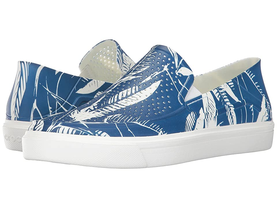 Crocs CitiLane Roka Tropical Slip-On (Blue Jean/White) Men