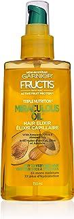 Garnier Hair Care Fructis Triple Nutrition Marvelous Oil Hair Elixir, 5.0 fl oz.