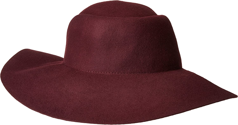 San 希少 Diego Hat Company Women's 4 H Crown Pleated Brim Floppy 送料無料 Inch