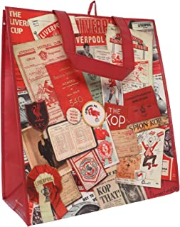 Liverpool FC Red Soccer Vintage Shopper Bag AW 18/19 LFC Official