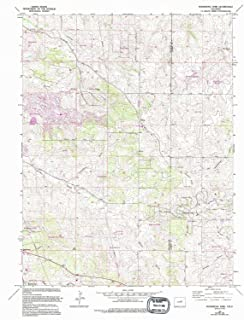 YellowMaps Ponderosa Park CO topo map, 1:24000 Scale, 7.5 X 7.5 Minute, Historical, 1966, Updated 1994, 26.8 x 22.1 in