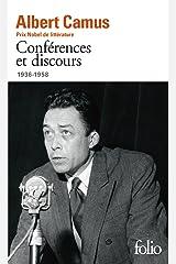Conférences et discours (1936-1958) Format Kindle