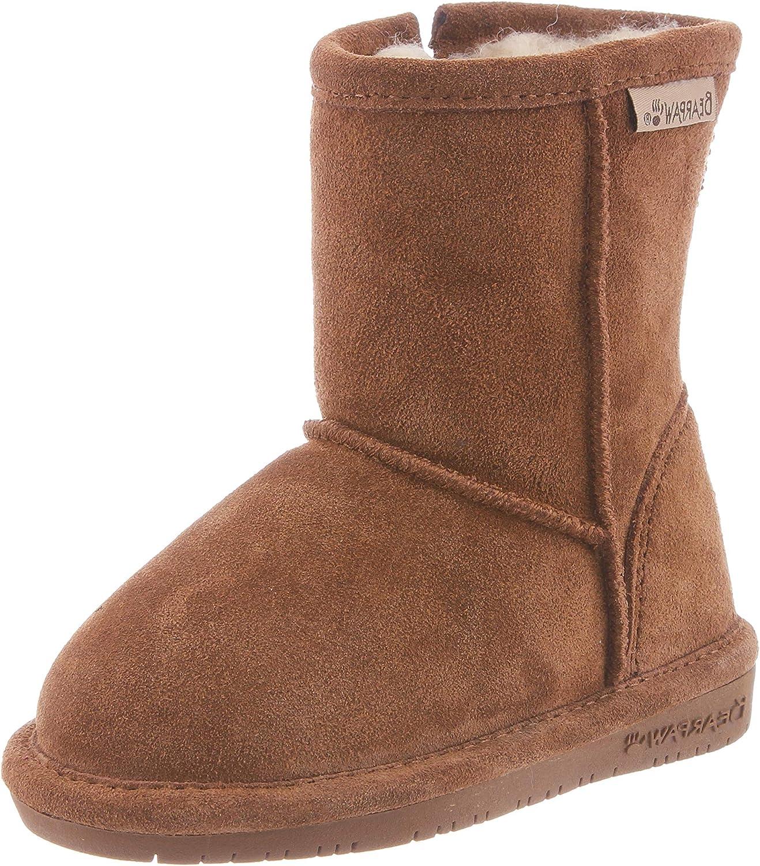 BEARPAW Unisex-Child Emma Toddler Mid Max 65% OFF Popular brand in the world Zipper Calf Boot