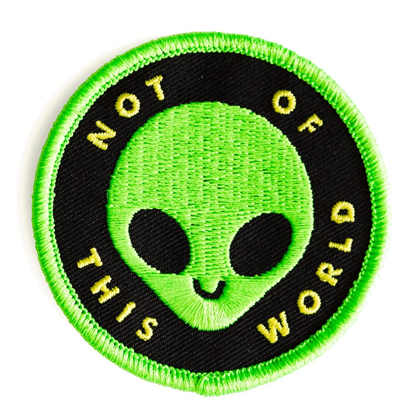 These Are Things Not of This World Embroidered Iron On or Sew On Patch