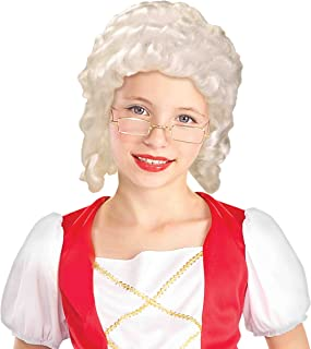 Mrs. Santa/Colonial Girl Wig