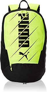 Puma Ftblplay Backpack Yellow Alert- Blac Yellow Bag For Unisex, Size One Size