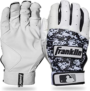 Franklin Sports MLB Digitek Batting Gloves – Youth Batting Glove – Tri-Curve..