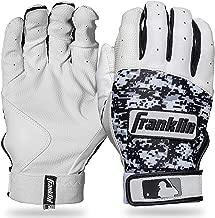 Franklin Sports MLB Digitek Batting Gloves – Youth Batting Glove – Tri-Curve..