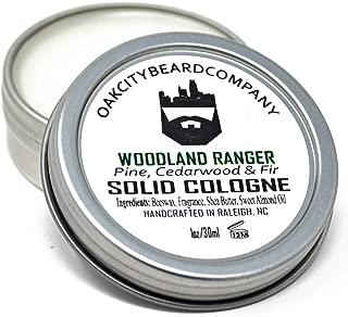OakCityBeardCo. - Woodland Ranger - Men's Solid Cologne - 1oz
