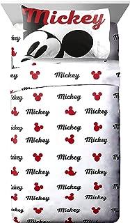 Jay Franco Mickey Mouse Reloaded 4 Piece, Retro Full Sheet Set