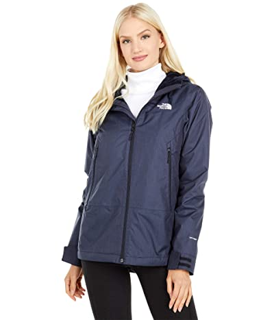 The North Face Inlux Insulated Jacket (Aviator Navy Heather) Women