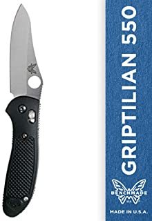 Benchmade - Griptilian 550 Knife with CPM-S30V Steel, Sheepsfoot Blade