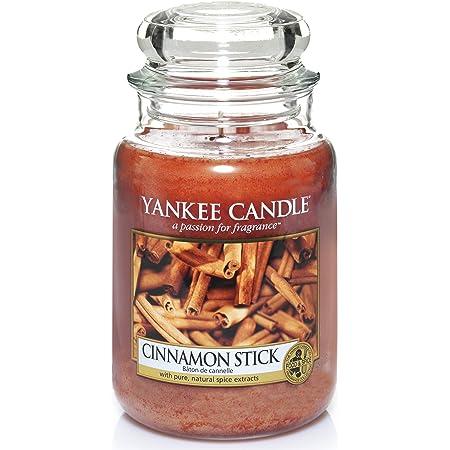Yankee Candle - Candela profumata, Bastoncino di cannella, Giara grande