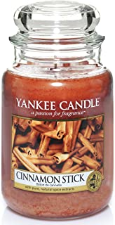 Yankee Candle Scented Candle | Cinnamon Stick Large Jar Candle | Burn Time: Up to 150 Hours