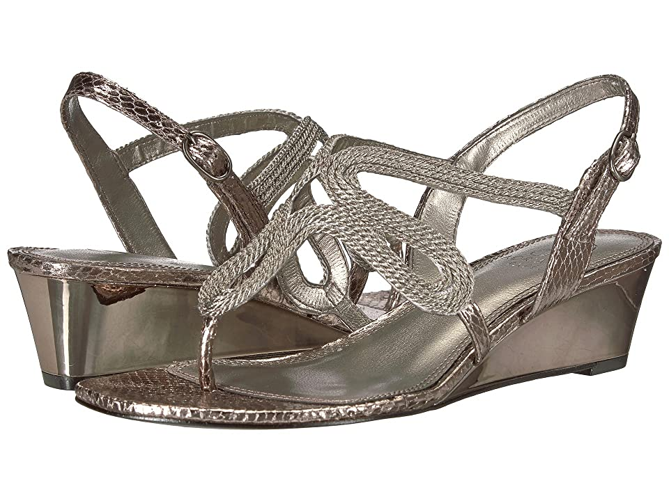 Adrianna Papell Cannes (Gunmetal Metallic Rope) Women