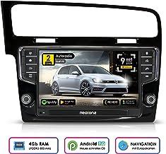 Auto Radio Android neotone WRX de 906g7para Volkswagen Golf 7(a Partir de 2012–) Bus Can, GPS Navegación integrada, Dab +, Octa Core, 4K Ultra HD Video, WiFi, Bluetooth, RDS