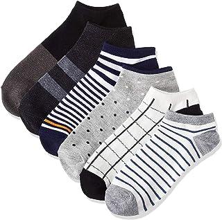 [ハルサク] HARUSAKU 4足 くるぶし メンズ スニーカーソックス ショート ソックス 靴下 セット 23~29 cm