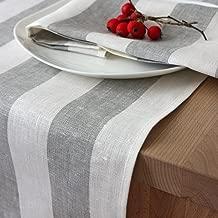 Festlicher Tischläufer Tischband Tischdeko Unterlage 45x150 cm Baumwolle Modern