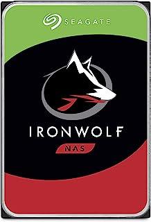 Seagate 10TB IronWolf NAS SATA 6Gb/s NCQ 256MB Cache 3.5-Inch Internal Hard Drive (ST10000VN0004)