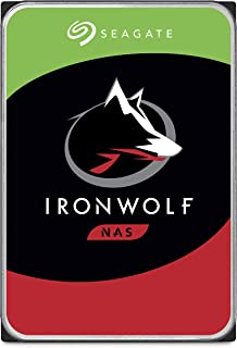 Seagate IronWolf 2TB NAS Internal Hard Drive HDD – 3.5 Inch SATA 6Gb/s 7200 RPM 256MB Cache for RAID Network Attached Storage (ST2000VN004)